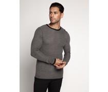 Pullover nachtblau/grau
