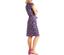Kleid navy/pink