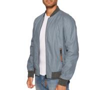 Jacke blau grau