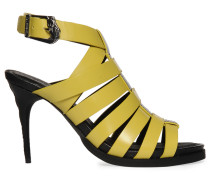 Sandaletten, Gelb, Damen