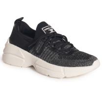 Sneaker schwarz/silber
