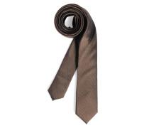 Krawatte, braun, Herren
