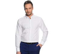Hemd Regular Fit, weiß, Herren