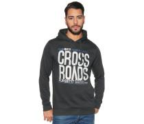 Sweatshirt mit Frontprint, Grau, Herren