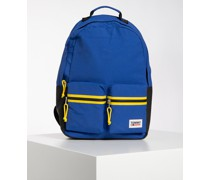 Rucksack blau/gelb/schwarz