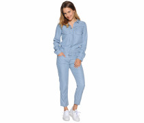 Jumpsuit, Blau, Damen