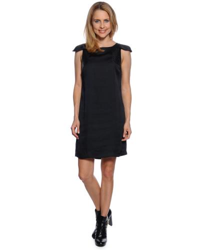 Kleid, Schwarz, Damen