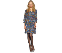 Kleid, blau/multi, Damen