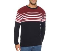 Pullover navy/rot