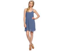 Kleid, graublau, Damen