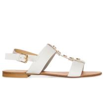 Sandalen, weiß, Damen