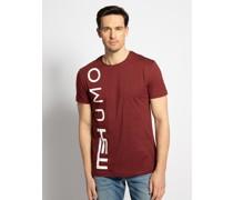 T-Shirt dunkelrot