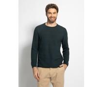 Pullover flaschengrün/navy