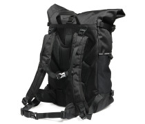 Rucksack schwarz/lila/grau