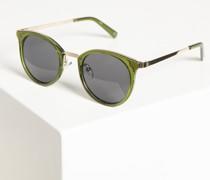 Sonnenbrille grün