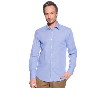 Hemd Regular Fit, blau/weiß, Herren
