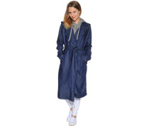 Trenchcoat, Blau, Damen