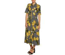 Kleid schwarz/gelb