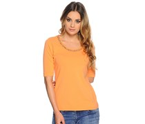 T-Shirt, orange, Damen