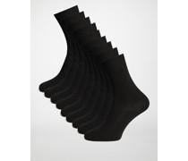 Socken 9er Set schwarz