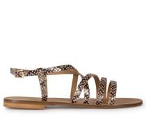 Sandalen braun/anthrazit