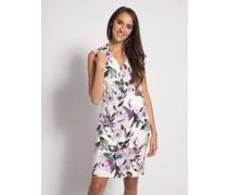 Kleid weiß/lila