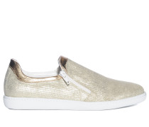 Slipper, Gold, Damen