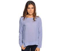 Blusenshirt, blau/multi, Damen