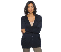 Strickjacke, navy, Damen