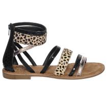 Sandalen, schwarz/multi, Damen