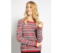 Pullover rot/weiß/navy