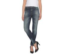 Jeans High Waist, Blau, Damen