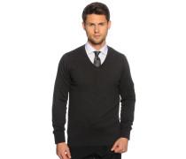 Pullover, gra meliert, Herren