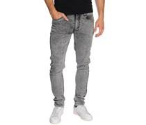 Jeans, anthrazit, Herren