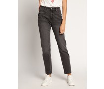 Jeans Tapered grau