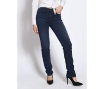 Jeans Straight dunkelblau