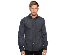 Hemd Regular Fit, Grau, Herren