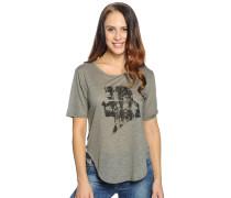 T-Shirt, oliv, Damen