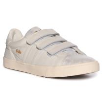 Ledersneaker hellgrau