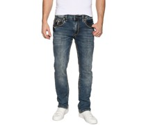 Jeans Levin blau