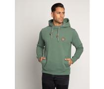 Kapuzensweatshirt grün