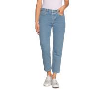 Jeans Cropped blau
