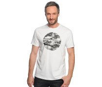 T-Shirt, offwhite, Herren