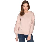 Pullover rosa/silber