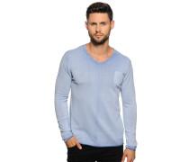 Pullover, hellblau, Herren