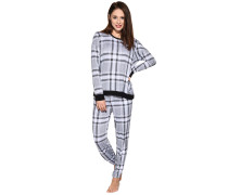Pyjama, Grau, Damen