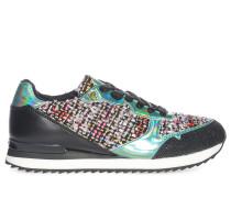 Sneaker, schwarz/multi, Damen