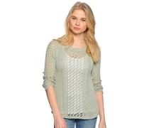 Pullover, mint, Damen