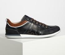 Sneaker navy/braun
