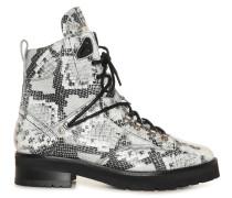 Boots grau/weiß